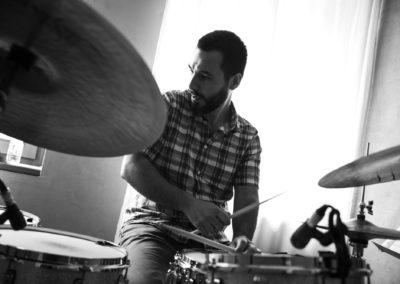michele morari alla casa del jazz roma, foto by andrea boccalini