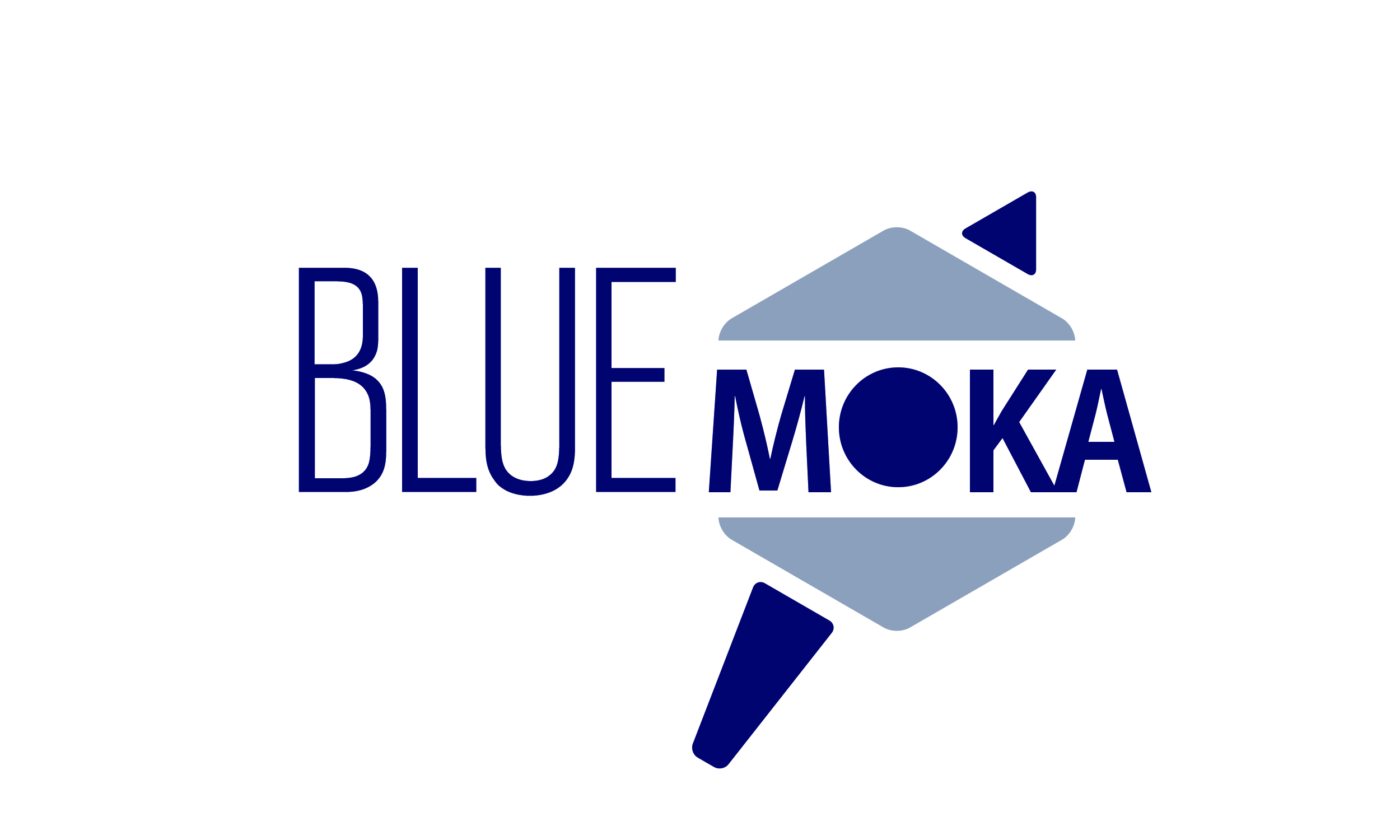 Blue Moka_LOGO_bianco - Michele Morari - Official website - Jazz, Funk