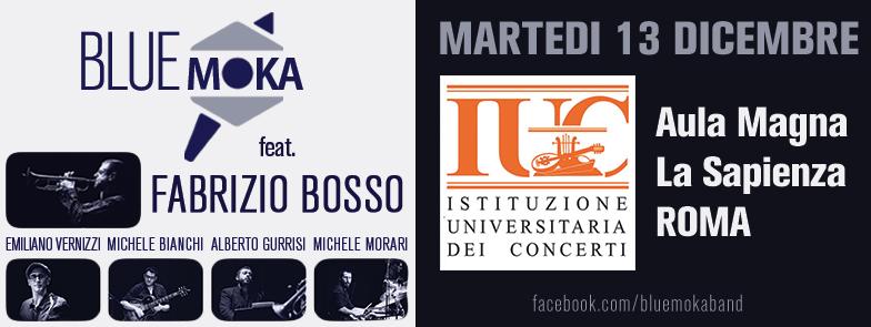 Blue Moka feat. Fabrizio BOSSO – IUC Università La Sapienza