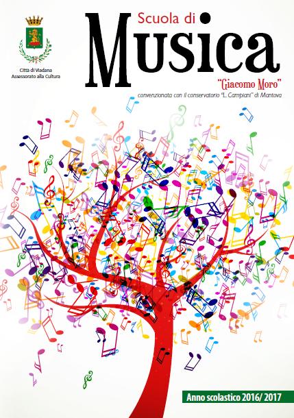 Scuola di musica G. Moro Viadana (MN), nuovo anno accademico 2016/2017