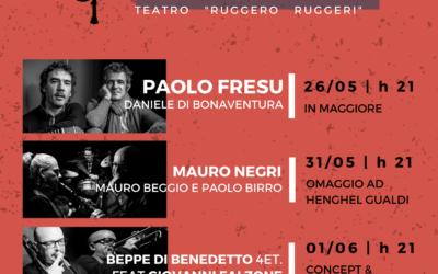 Guastalla Jazz 2018 – Beppe Di Benedetto Feat. Giovanni Falzone